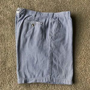 Columbia men's shorts Sz 40 gingham print